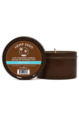 EARTHLY BODIES 3-IN-1 MASSAGE CANDLE 6OZ/170G IN SUNSATIONAL