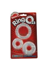 SCREAMING O SCREAMING O - RING OX3 SUPER STRETCHY RINGS - CLEAR