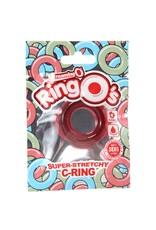 SCREAMING O SCREAMING O - RING O'S SUPER STRETCHY C-RING - RED