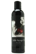 EARTHLY BODY - EDIBLE MASSAGE OIL - CHERRY BLAST 8OZ