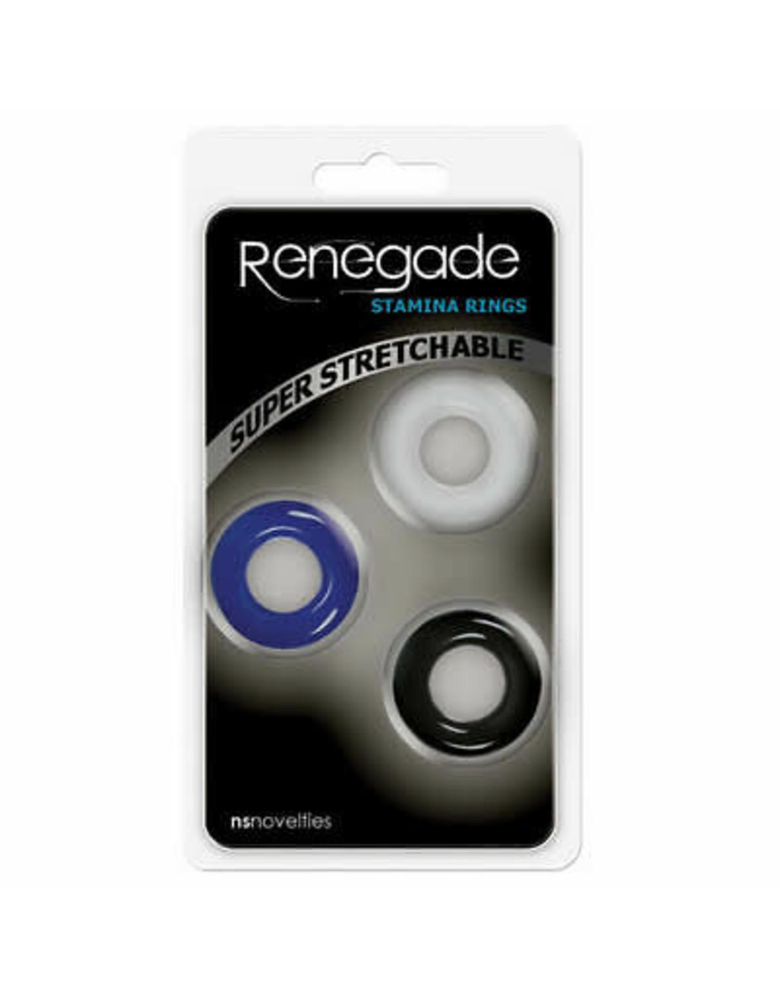 NS - RENEGADE - STAMINA RINGS 3PK