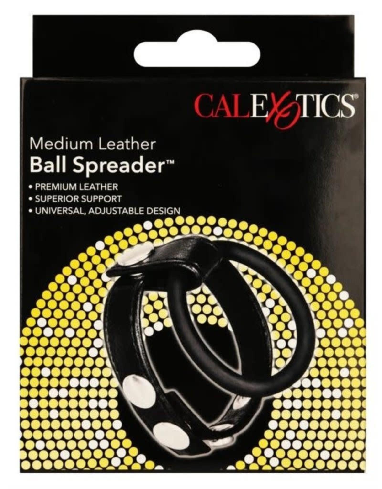 CALEXOTICS - LEATHER BALL SPREADER - MEDIUM
