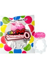 SCREAMING O - COLOR POP QUICKIE VIBE RING - PINK
