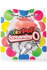 SCREAMING O SCREAMING O - COLOR POP QUICKIE VIBE RING - ORANGE