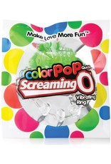 SCREAMING O SCREAMING O - COLOR POP QUICKIE VIBE RING - GREEN