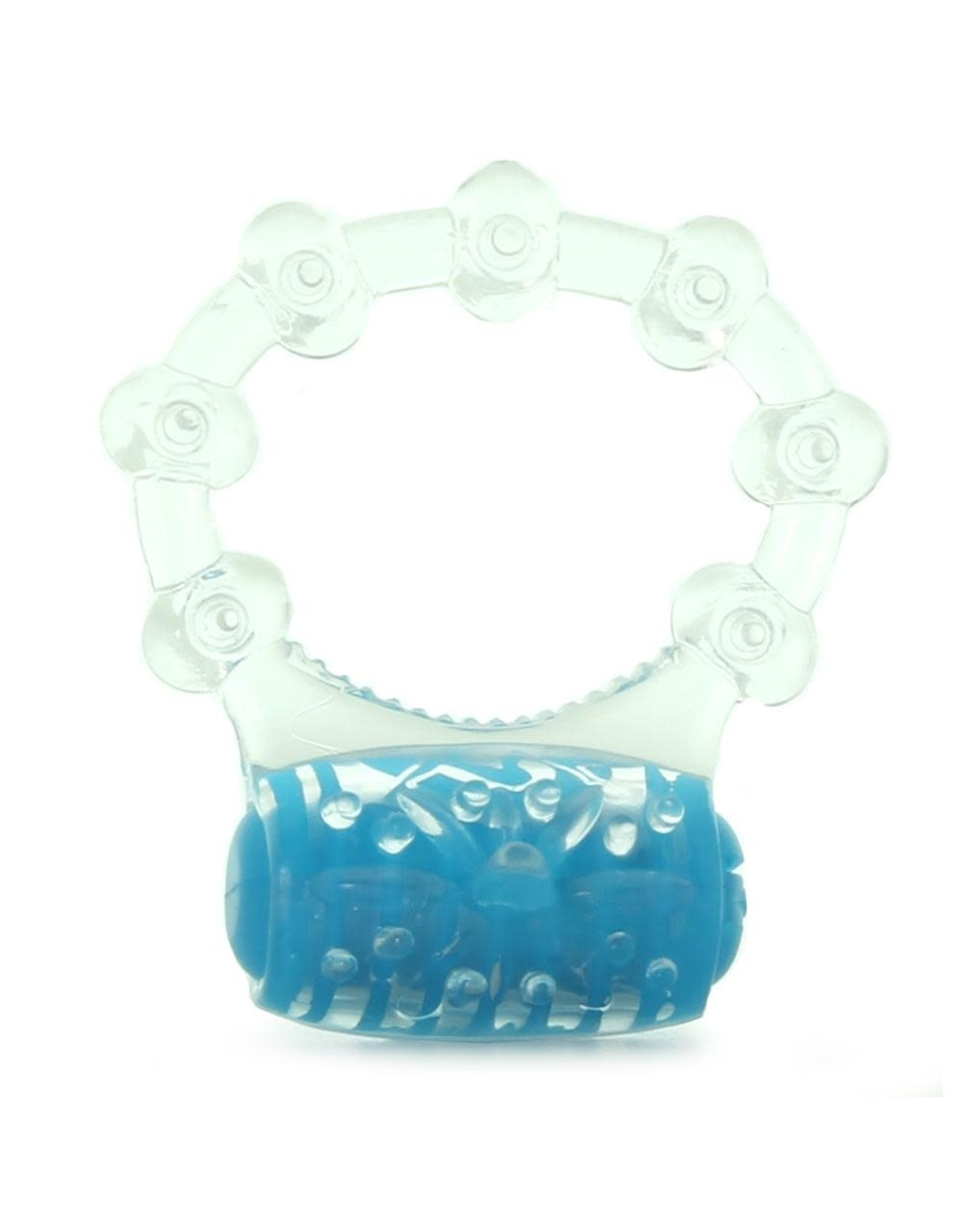 SCREAMING O - COLOR POP QUICKIE VIBE RING - BLUE