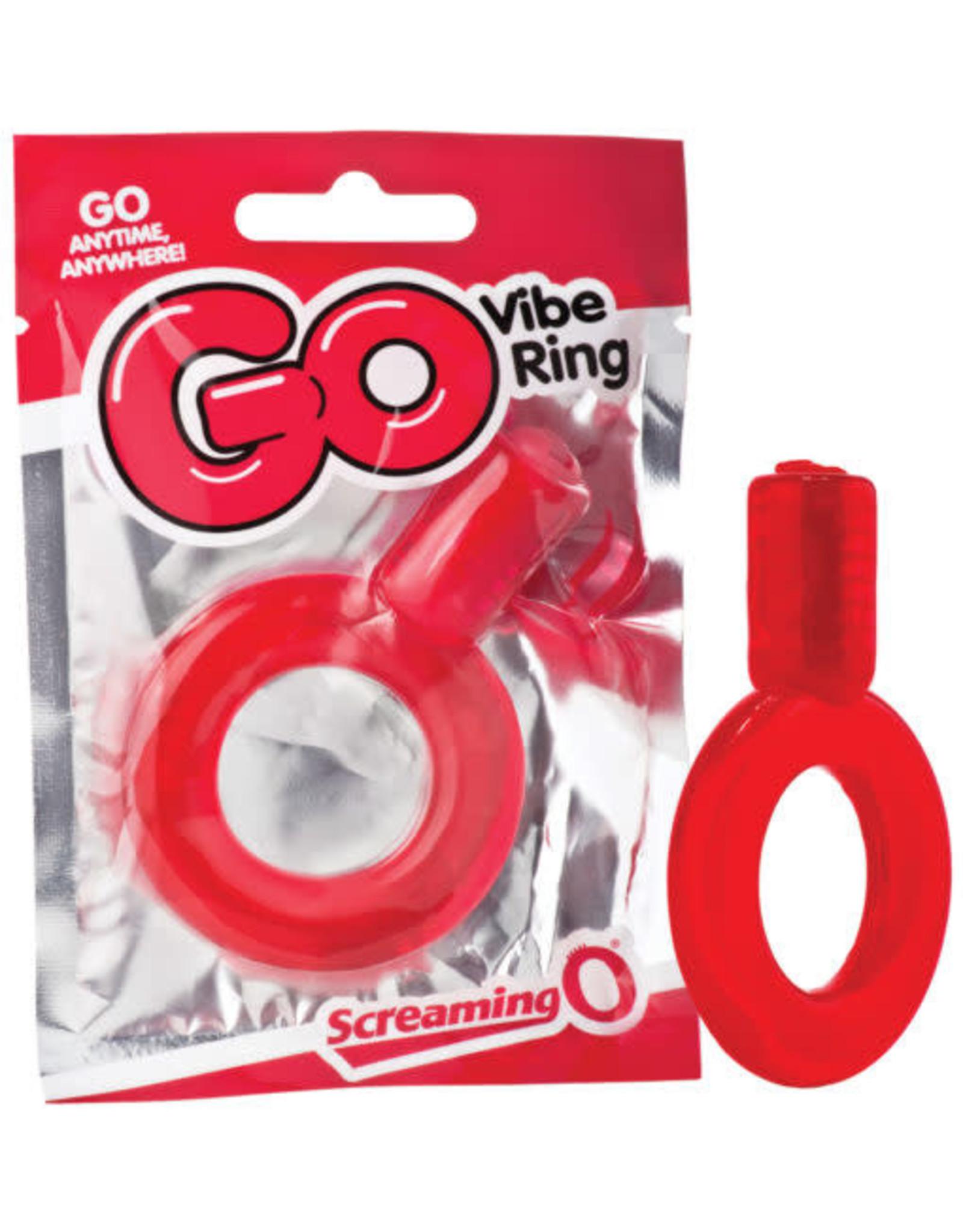 SCREAMING O SCREAMING O - GO VIBE RING - RED