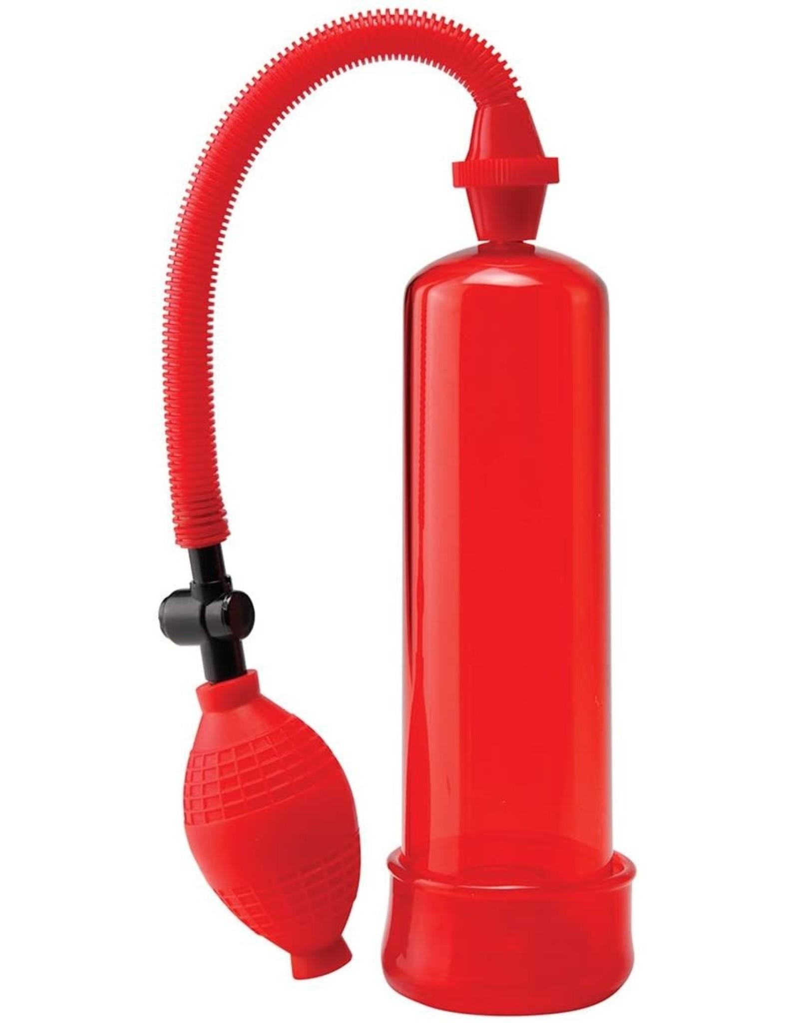 PIPEDREAM - PUMP WORX BEGINNER'S POWER PUMP - RED