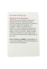 LET'S F**K CARD GAME