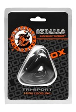OXBALLS - TRI-SPORT 3 RING COCK SLING - BLACK