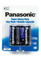 PANASONIC BATTERIES 2PK - C