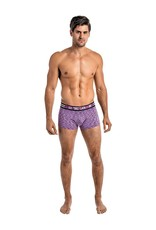 MALE P RETRO ACTIVE PURPLE MINI SHORTS S