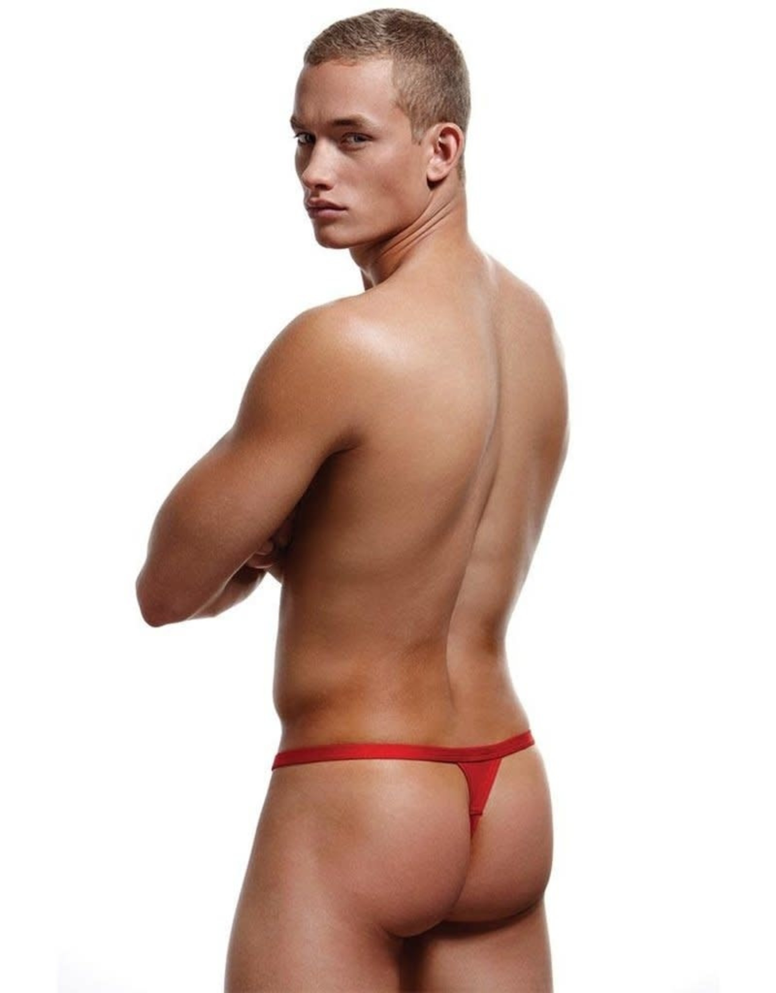 BACI RED BREAK-A-WAY THONG M/L