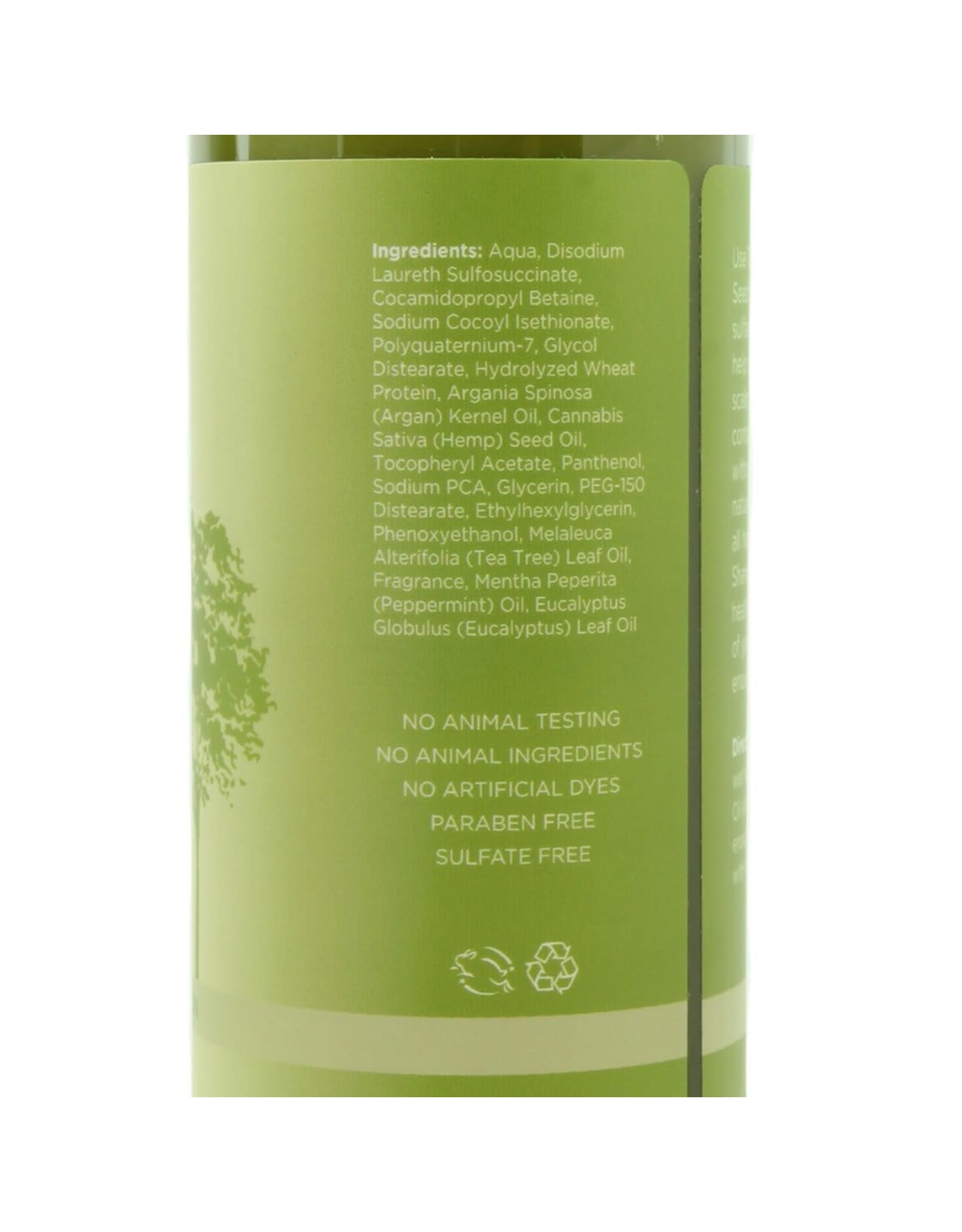 EARTHLY BODY EARTHLY BODY - MIRACLE OIL TEA TREE SHAMPOO - 16OZ