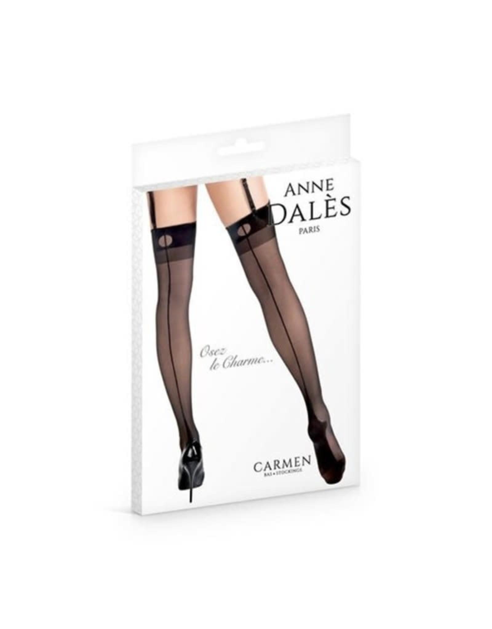 ANNE DALES STOCKINGS CARMEN T3 - BLACK