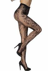SEXY CHARMING FLORAL PATTERN PANTYHOSE