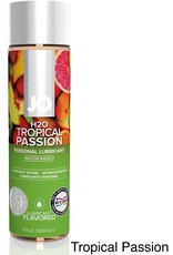 SYSTEM JO JO - H2O - FLAVOURED LUBRICANT - TROPICAL PASSION - 4 oz