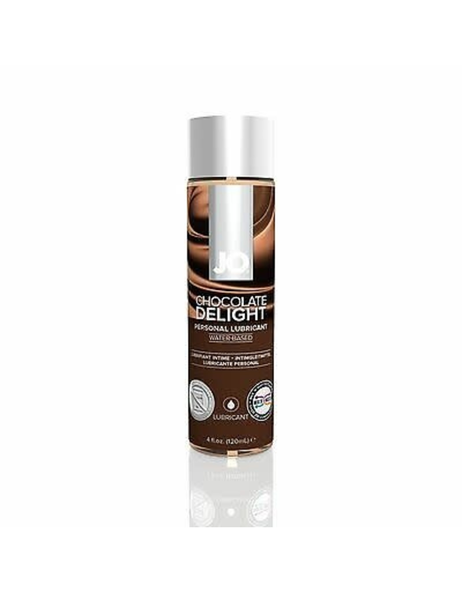 SYSTEM JO JO - H2O - FLAVOURED LUBRICANT - CHOCOLATE DELIGHT - 4 oz