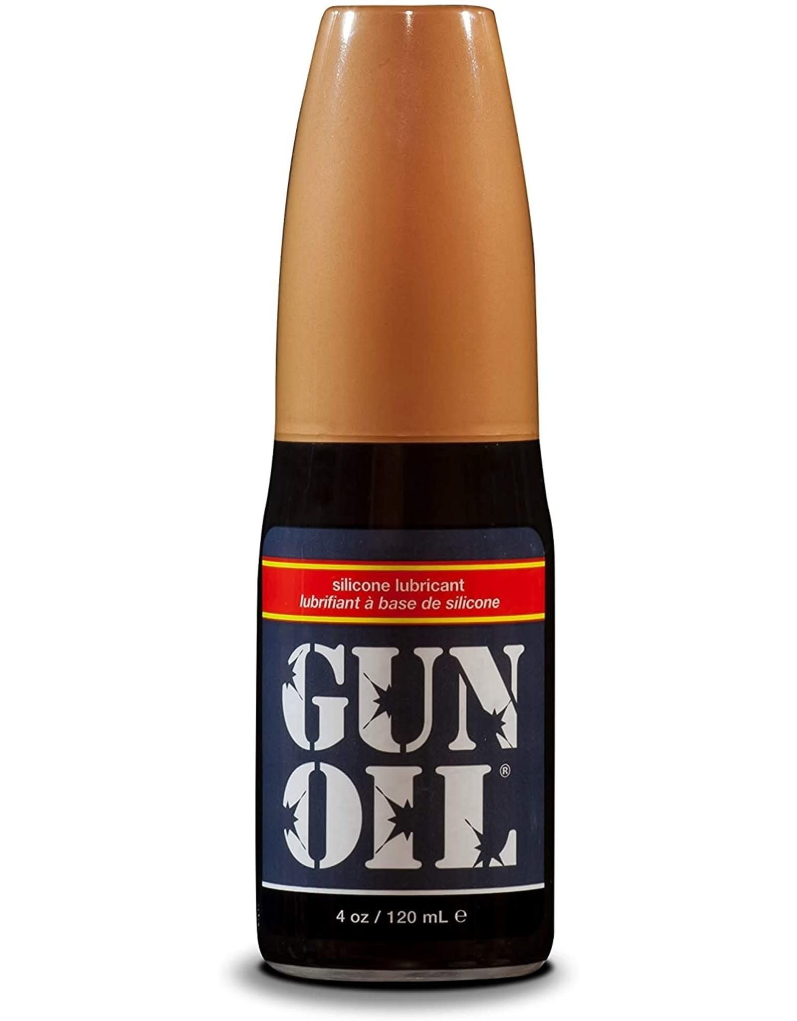 GUN OIL SILICONE LUBE 4 OZ
