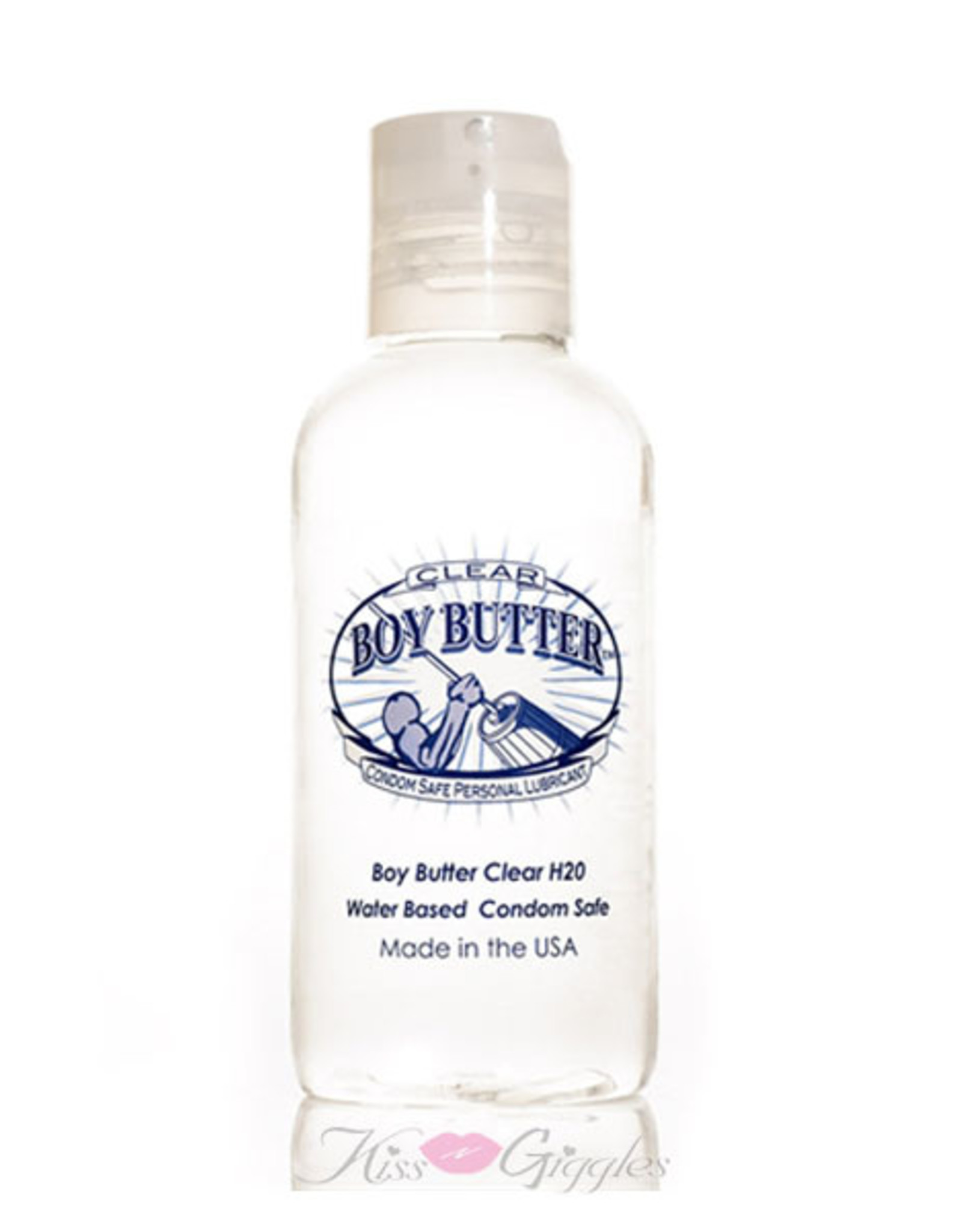 BOY BUTTER - CLEAR WITH INVISIGEL - 4OZ