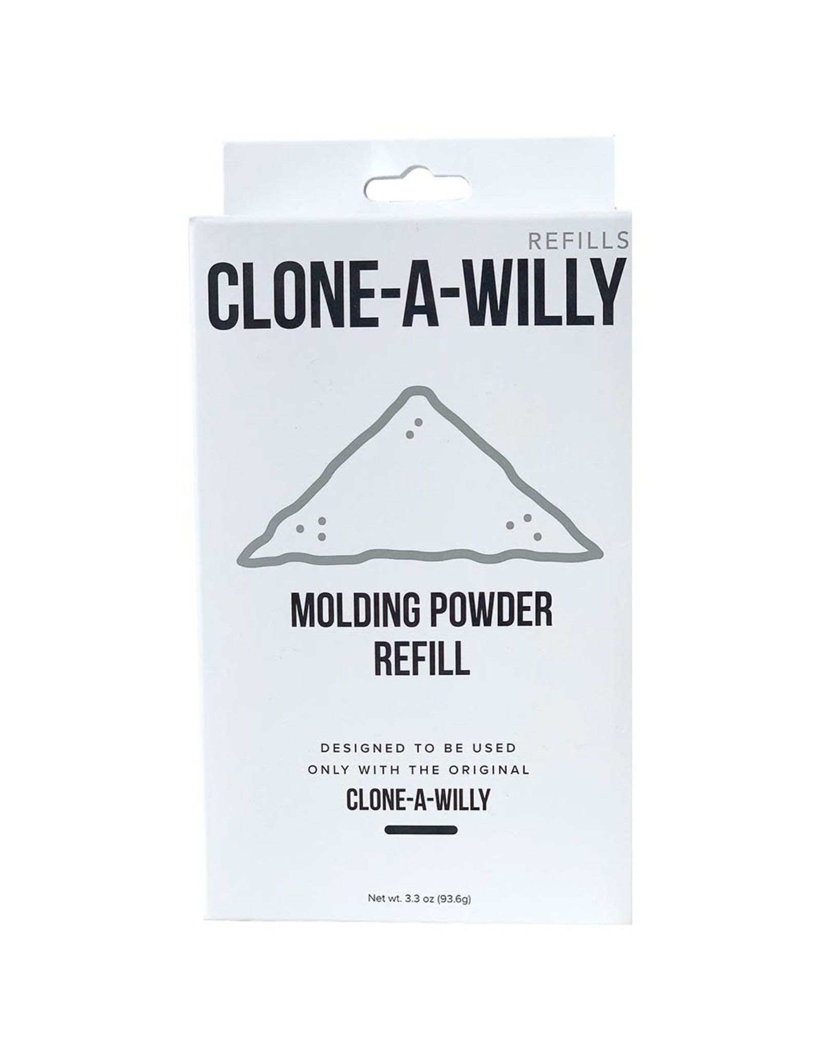 CLONE A WILLY (EMPIRE LABS) CLONE-A-WILLY REFIL MOLDING POWDER 3.3OZ