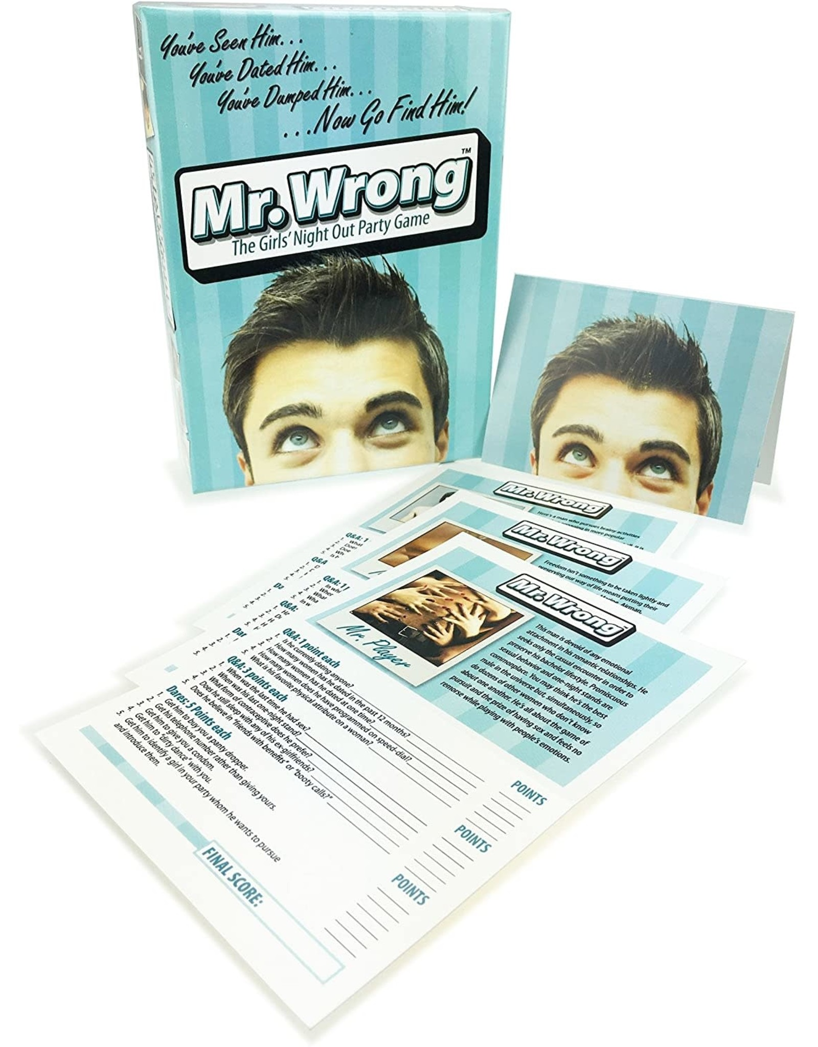 MR.WRONG GIRLS NIGHT OUT PARTY GAME