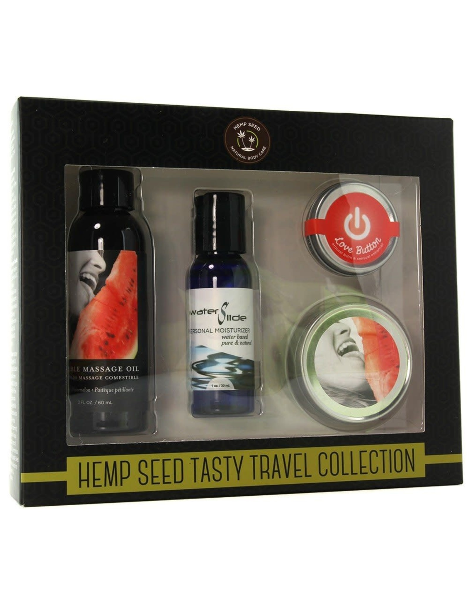 EARTHLY BODY - HEMP SEED TASTY TRAVEL COLLECTION - WATERMELON