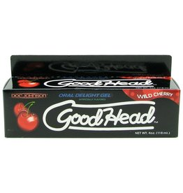 DOC JOHNSON DOC JOHNSON - GOODHEAD - ORAL DELIGHT GEL - WILD CHERRY - 4OZ