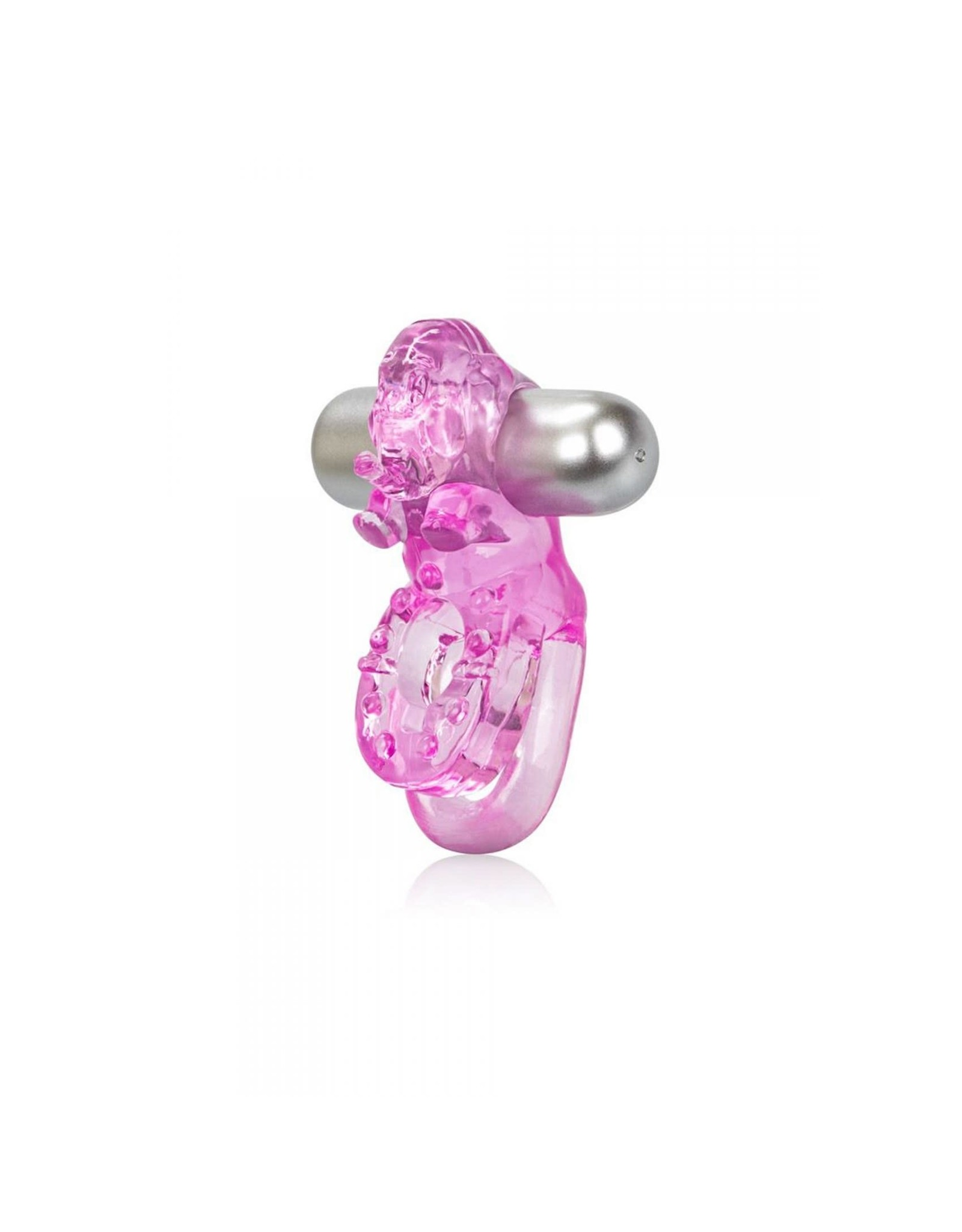 CALEXOTICS - LOVER'S DELIGHT ELE - VIBE COCK RING - PINK