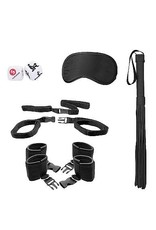OUCH! - BED POST BINDINGS RESTRAING KIT - BLACK