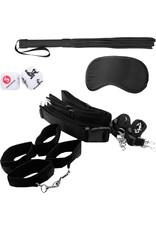 OUCH OUCH! - BONDAGE BELT RESTRAINT SYSTEM - BLACK
