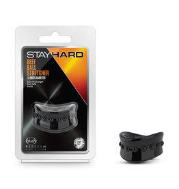 BLUSH STAY HARD - BEEF BALL STRETCHER - 1.5 INCH DIAMETER - BLACK