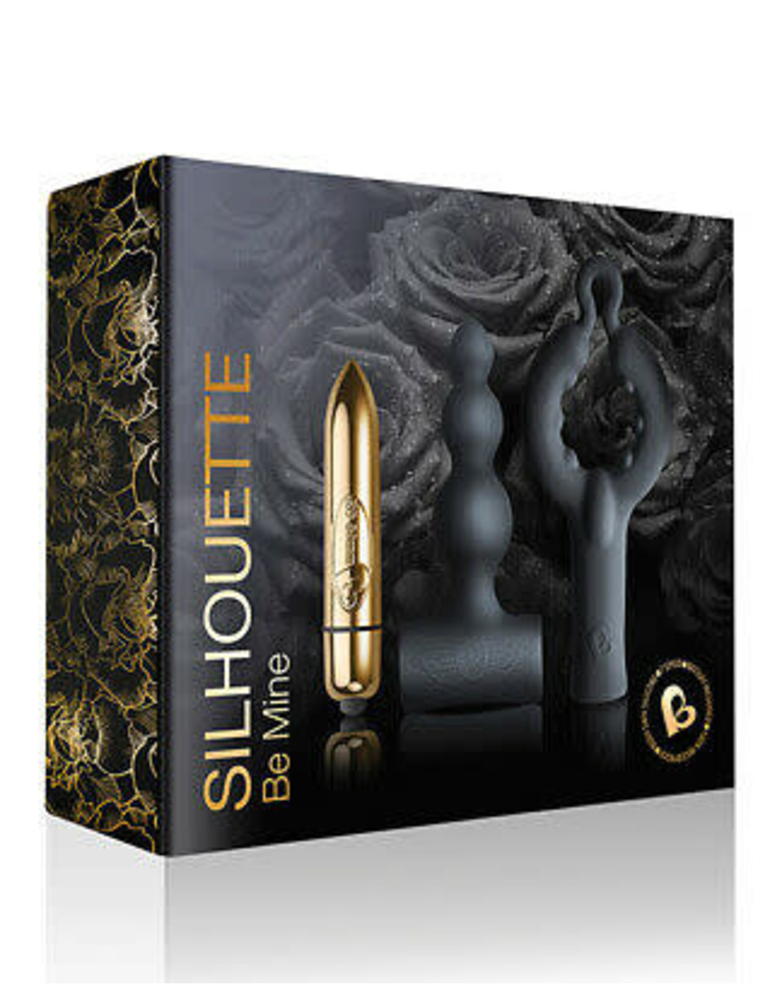 ROCKSOFF - SILHOUETTE - BE MINE SET - BLACK & GOLD