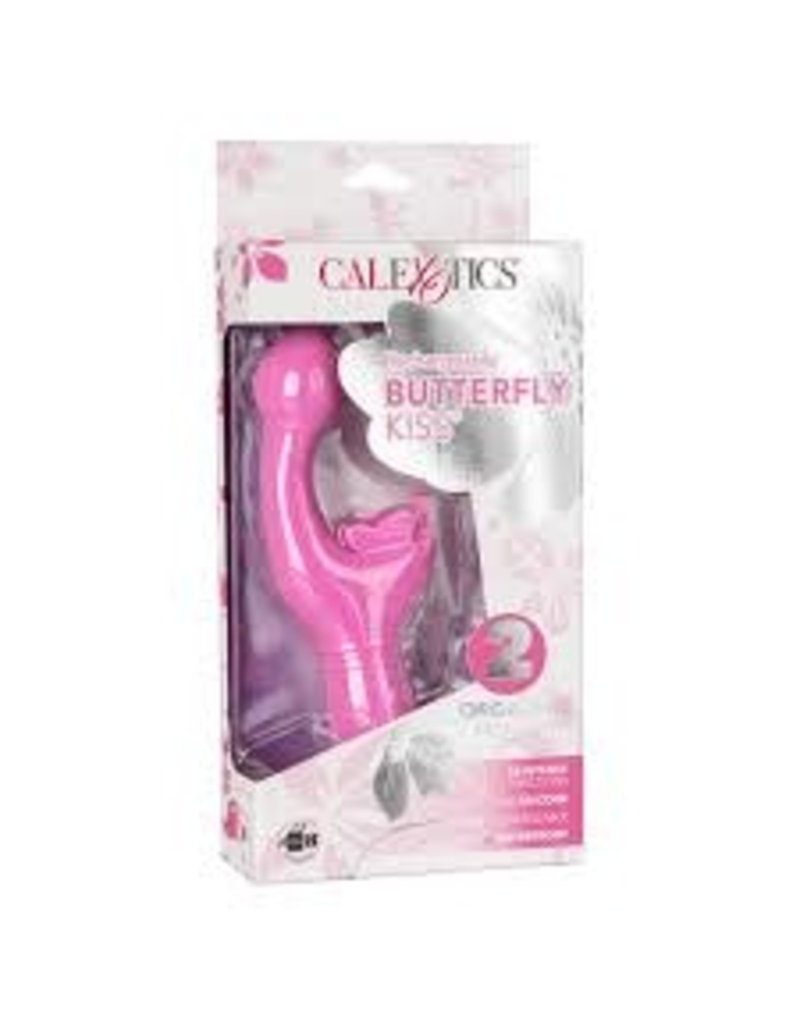 CALEXOTICS - RECHARGEABLE BUTTERFLY KISS - PINK