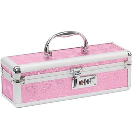 LOCKABLE VIBRATOR TOY CHEST - PINK