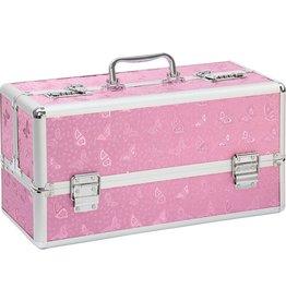 LARGE LOCKABLE VIBRATOR CASE - PINK