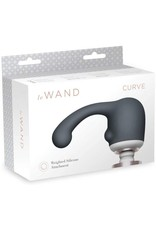 LE WAND LE WAND CURVE SILICONE WEIGHTED ATTACHMENT - GREY