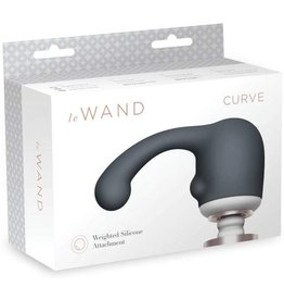 LE WAND CURVE SILICONE WEIGHTED ATTACHMENT - GREY