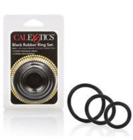 CALEXOTICS CALEXOTICS - RUBBER RINGS 3 PIECE SET