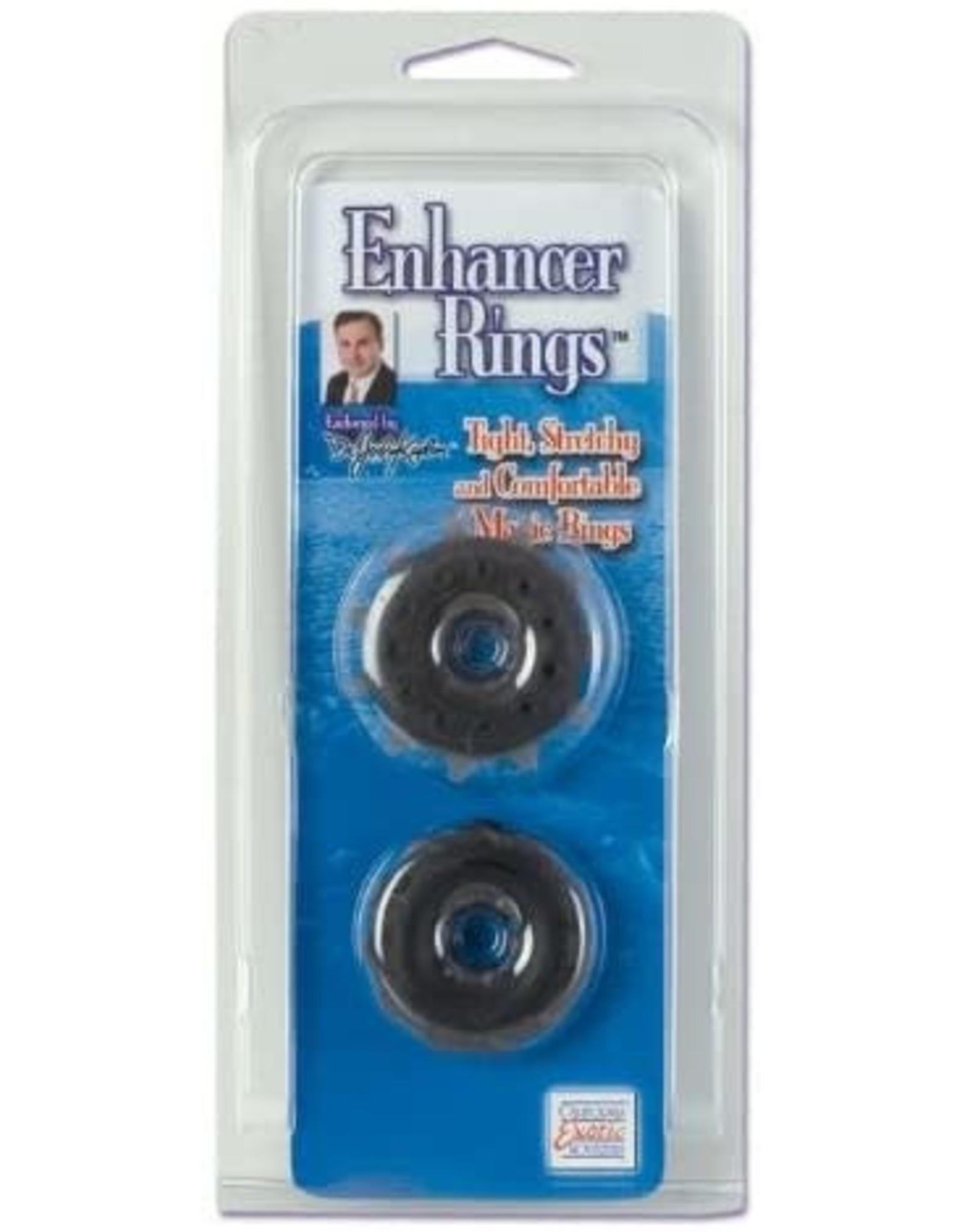 CALEXOTICS DR.JOEL - ENHANCER RINGS - BLACK