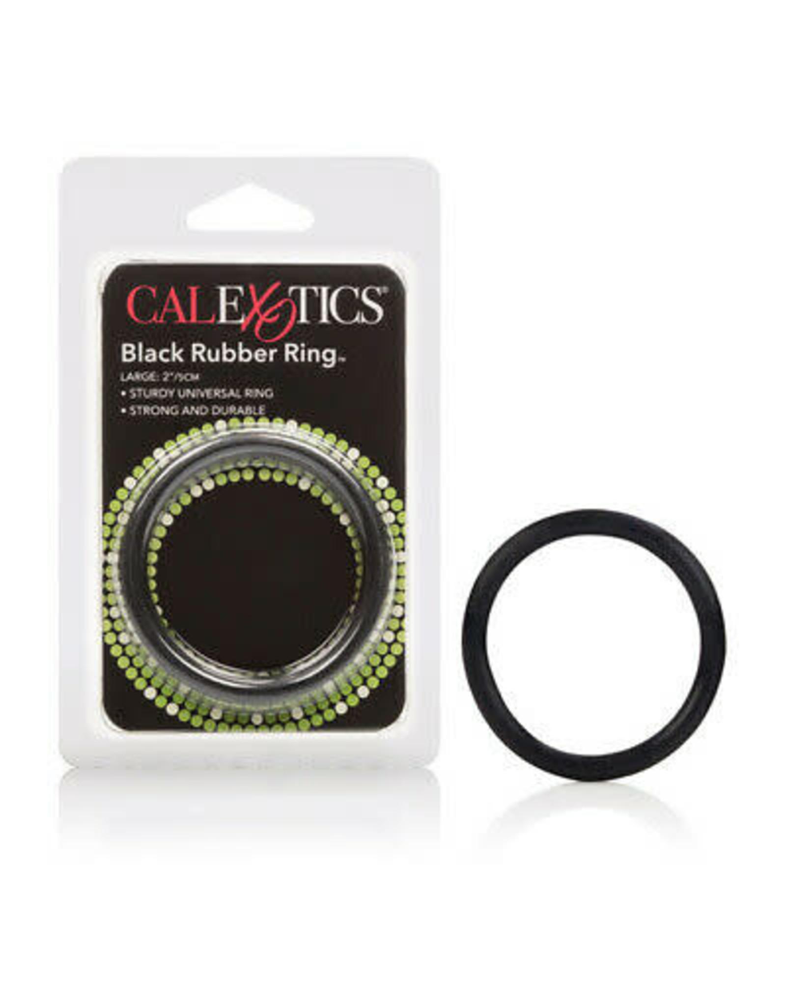 CALEXOTICS RUBBER RING BLACK - LARGE