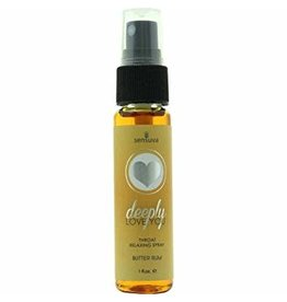 DEEPLY LOVE YOU 1OZ THROAT SPRAY - BUTTER RUM