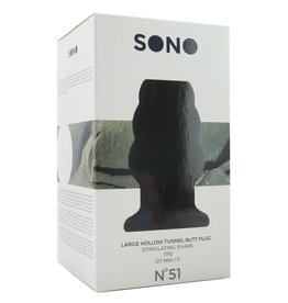 SONO - NO.51 LARGE HOLLOW TUNNEL BUTT PLUG