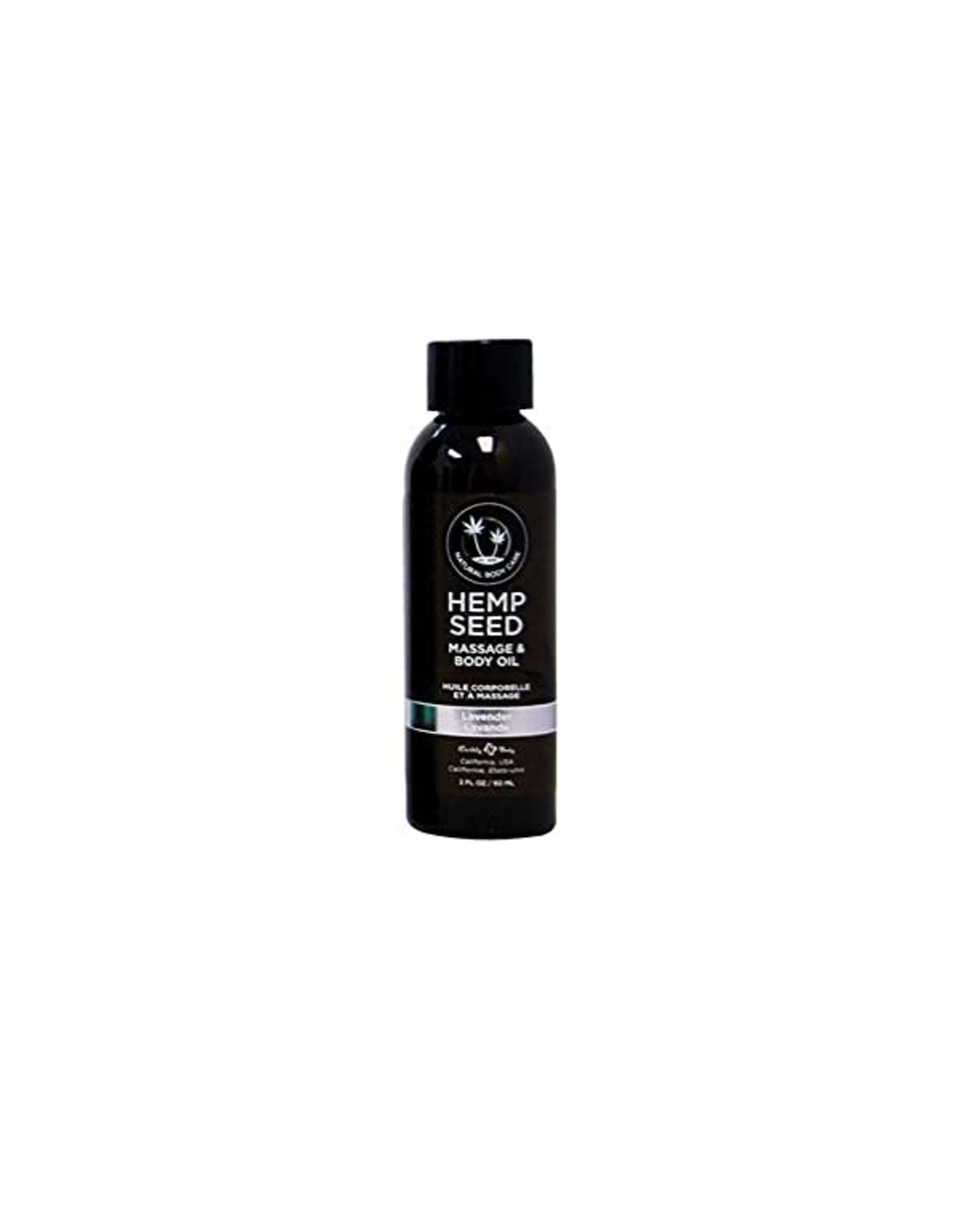 EARTHLY BODY EARTHLY BODIES - HEMP SEED MASSAGE OIL 2OZ. - LAVENDER