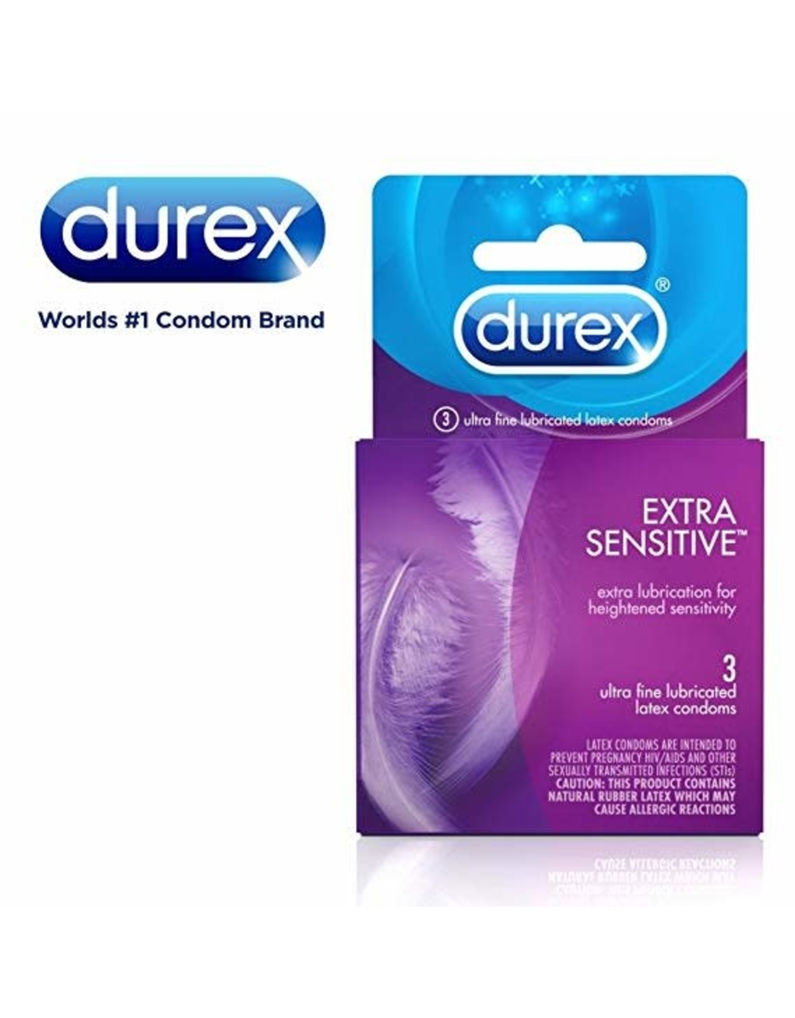 DUREX - SENSITIVE CONDOMS 3PK