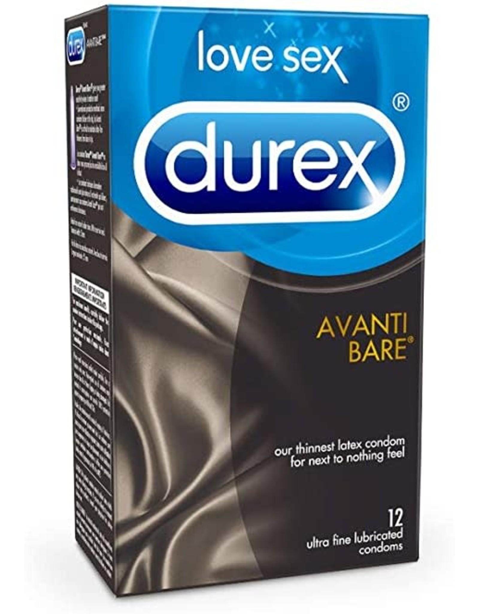 DUREX - AVANTI BARE SENSATIONS CONDOM - 12-PACK