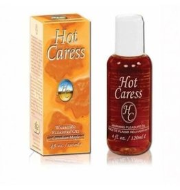 HOT CARESS WARMING PLEASURE OIL CANADIAN MAPLE