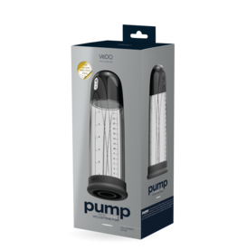 VEDO - PUMP RECHARGEABLE VACUUM PENIS PUMP - JUST BLACK