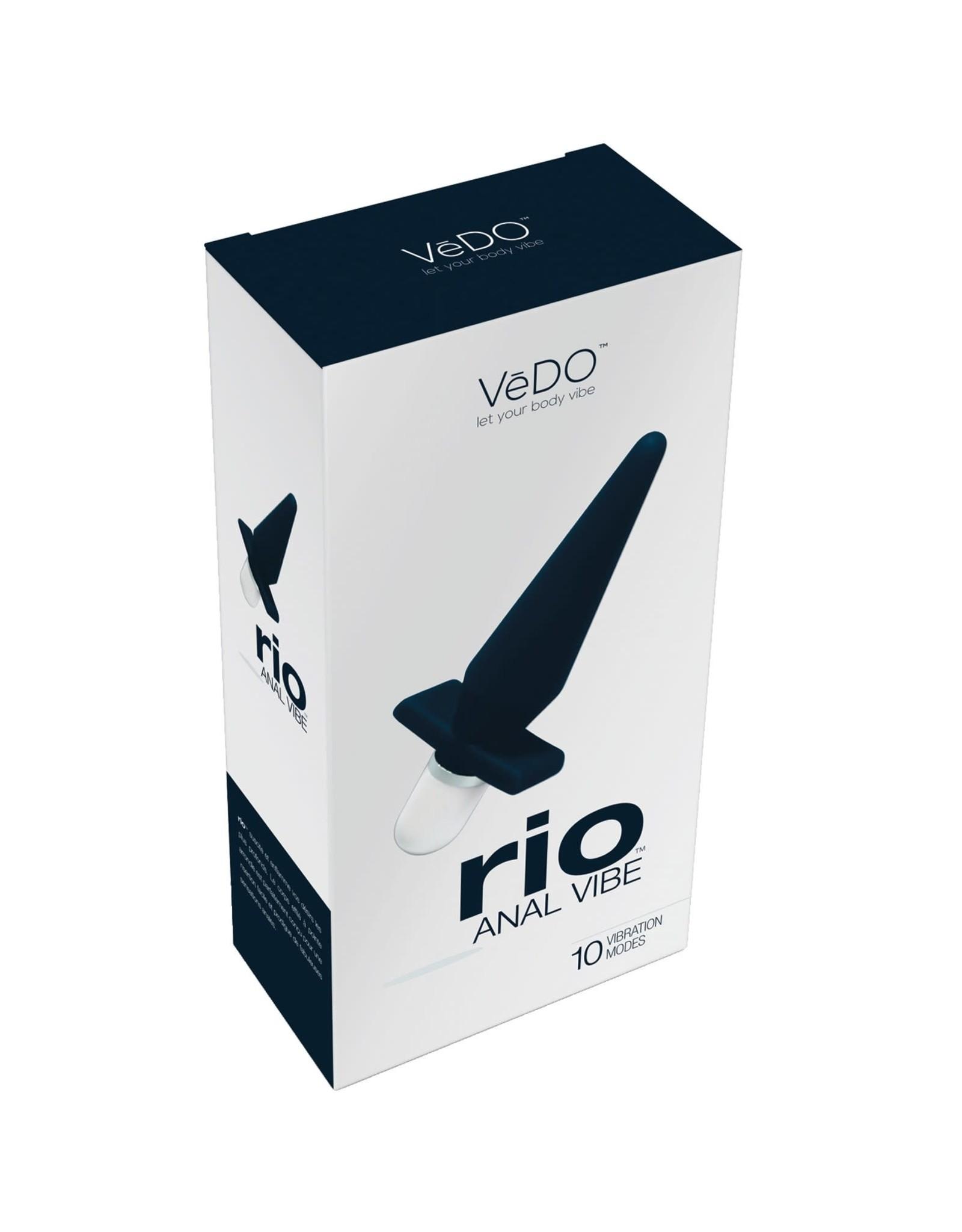 VEDO VEDO - RIO ANAL VIBE - JUST BLACK