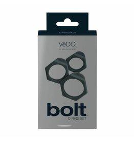 VEDO - BOLT C-RING SET - JUST BLACK